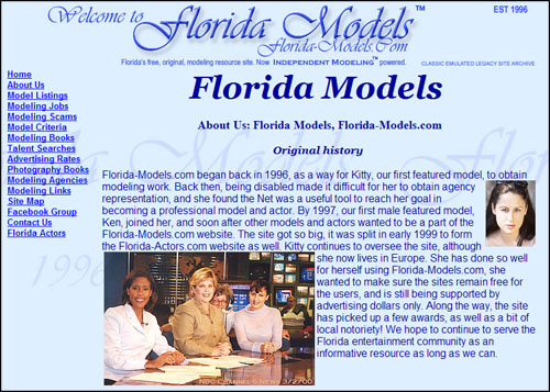 About Florida Models
